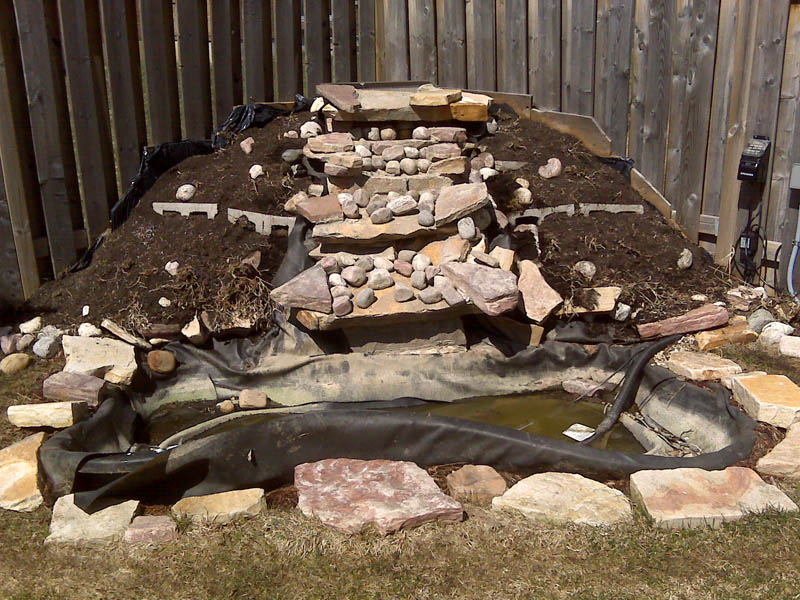 How to build a pond step by step house of fishery lovers for Building a koi pond