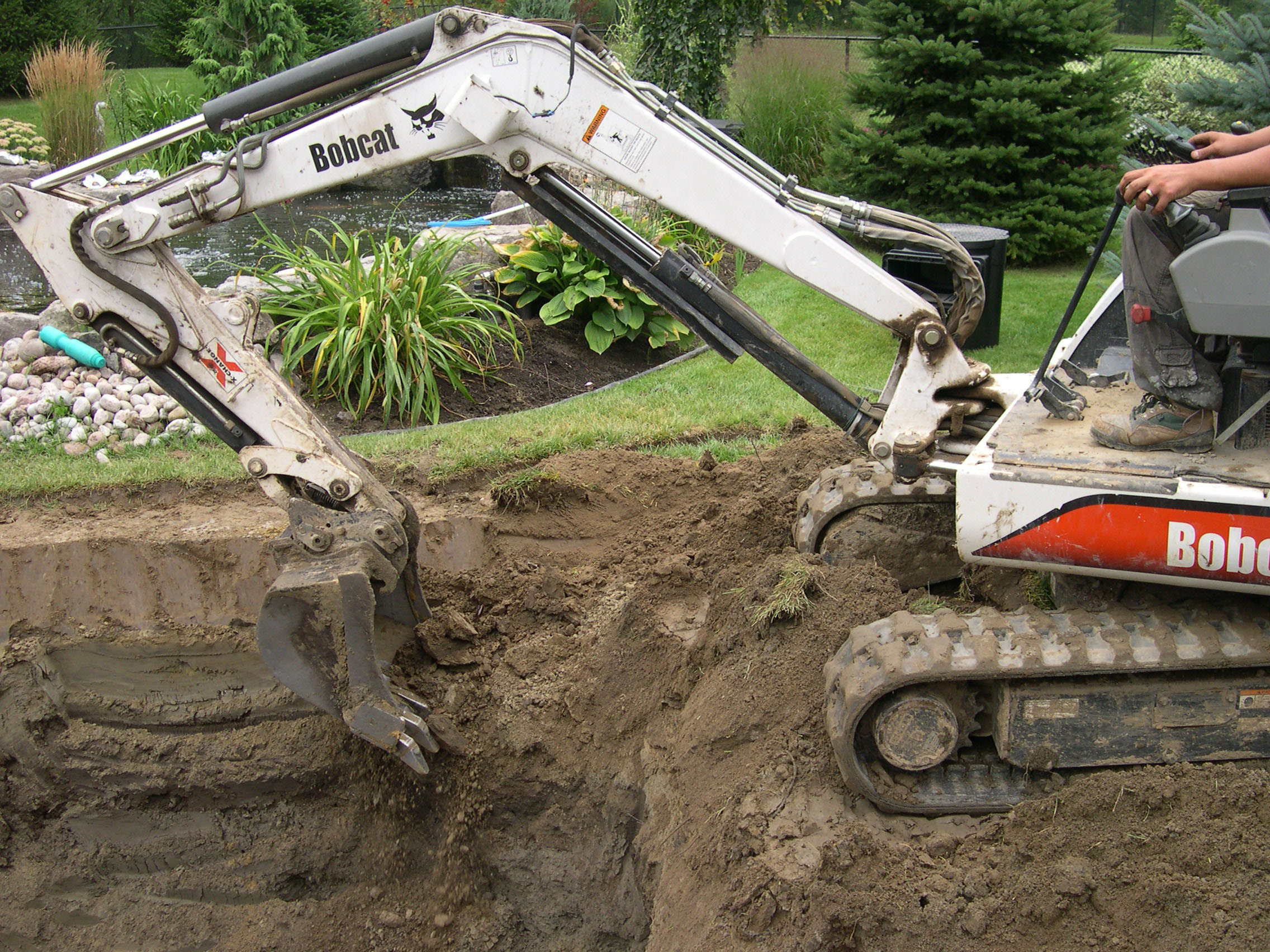 Pond Excavation Toronto Tips How Dig Your Pond