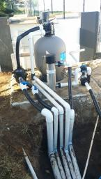 Filter system completed in Jamaica