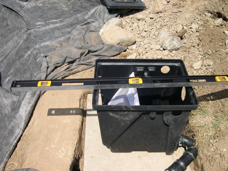 Koi pond skimmers for Pond filter setup