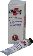 debride medicated ointment instructions