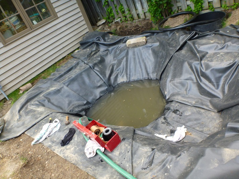 Toronto koi pond builders for Koi pond return jets
